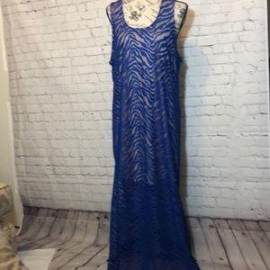 Sofia Vergara Lace Maxi Dress